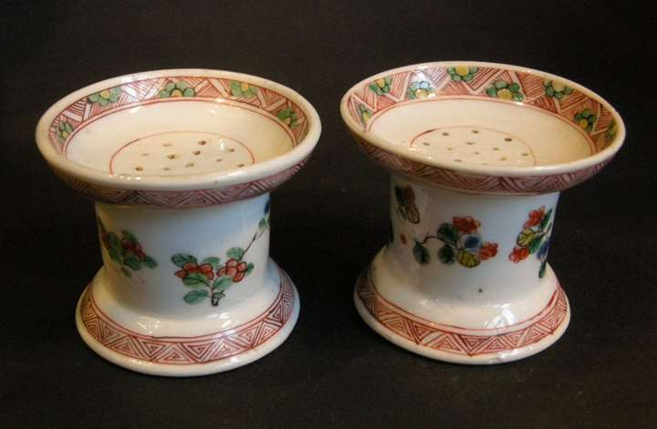 Pair of salt cellars