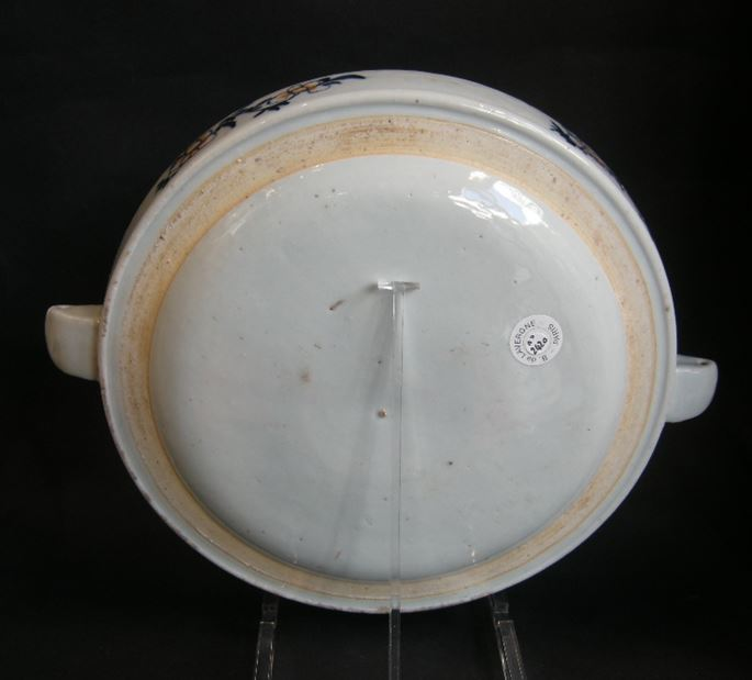 Rare heating dish porcelain, Tobacco Leaf decor | MasterArt