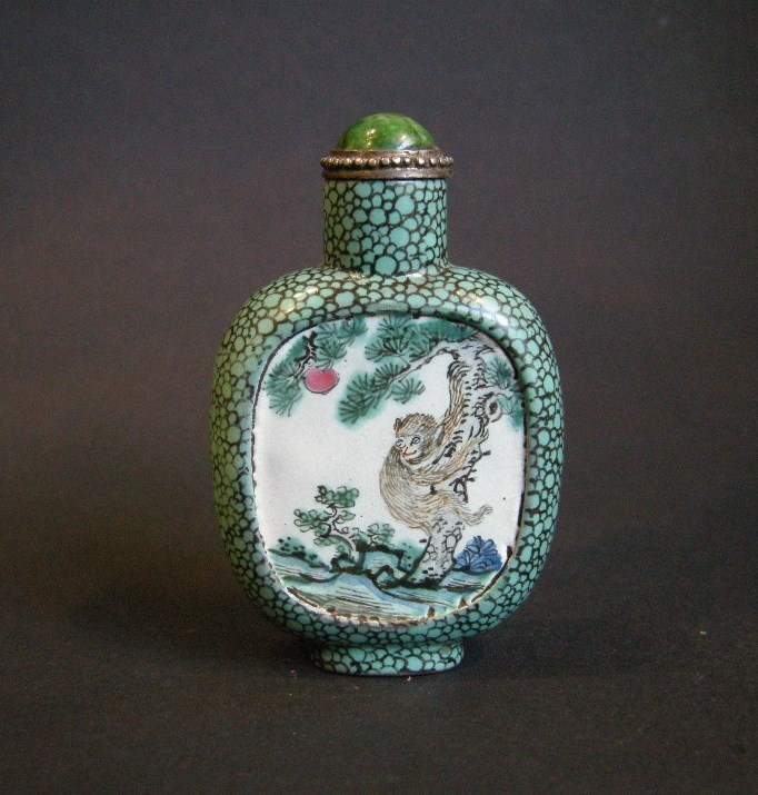 Yixing ware snuff bottle