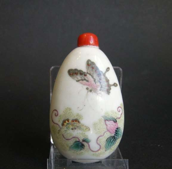 Rare porcelain snuff bottle