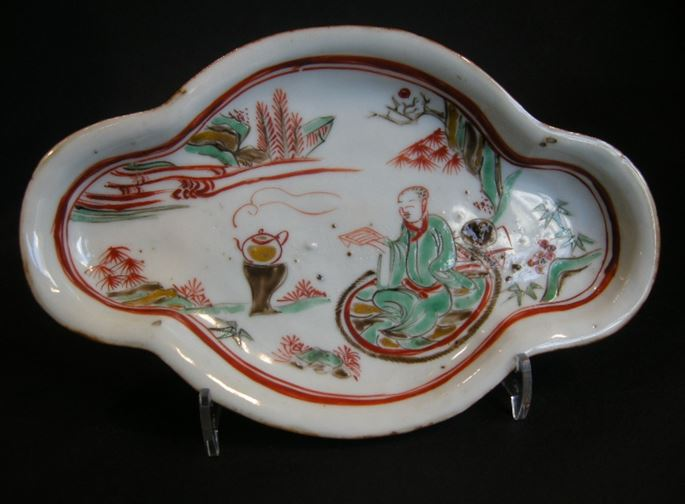 "Small dish porcelain ""Ko somometsuke"" for the Japan market -Ming period 