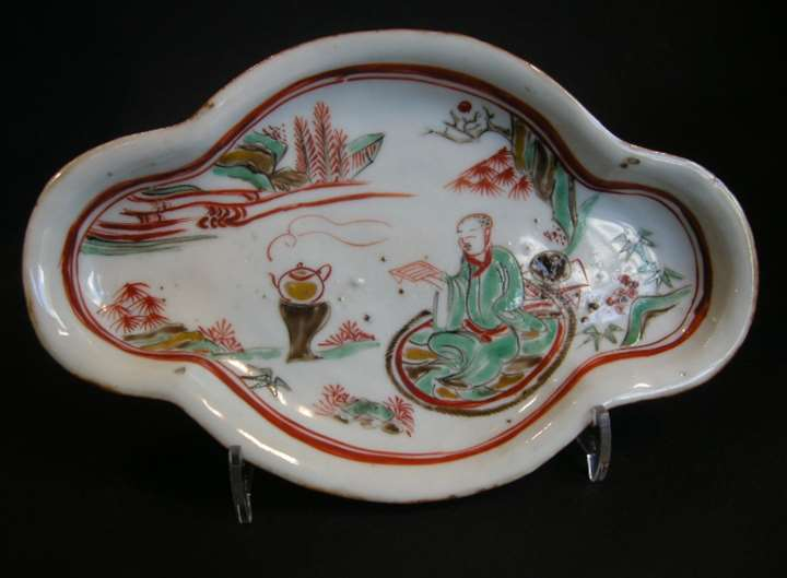 "Small dish porcelain ""Ko somometsuke"" for the Japan market -Ming period"