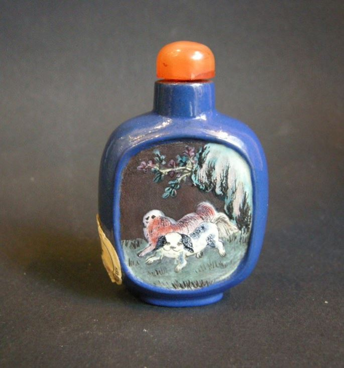 Snuff bottle Yixing ware | MasterArt