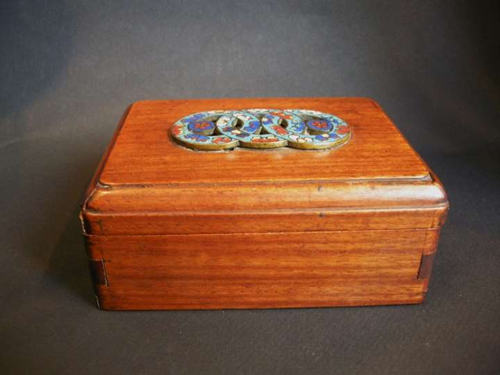 "Wood box ""huang huali"""