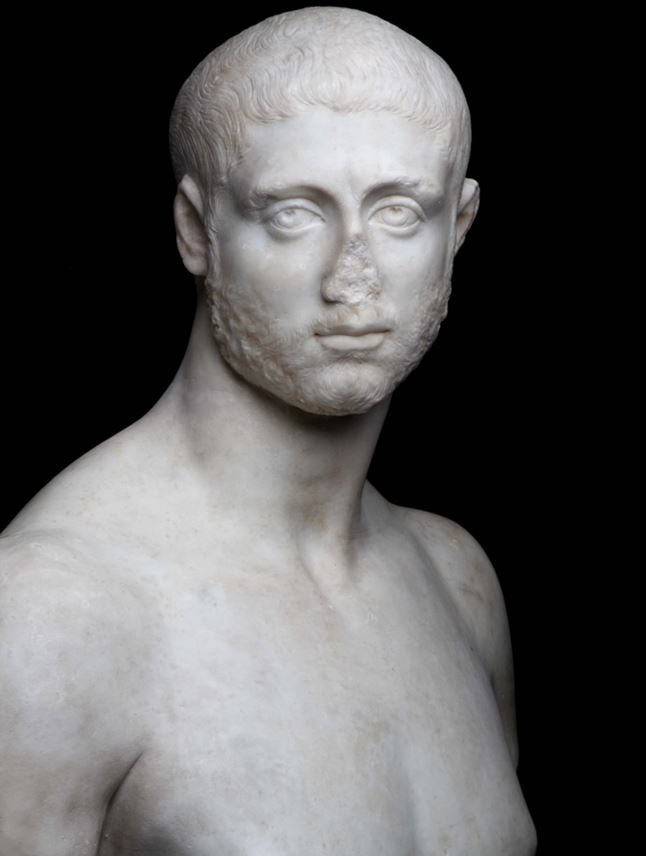 Bust of a Man, probably Severus Alexander (emperor from 222 to 235 A.D.) | MasterArt