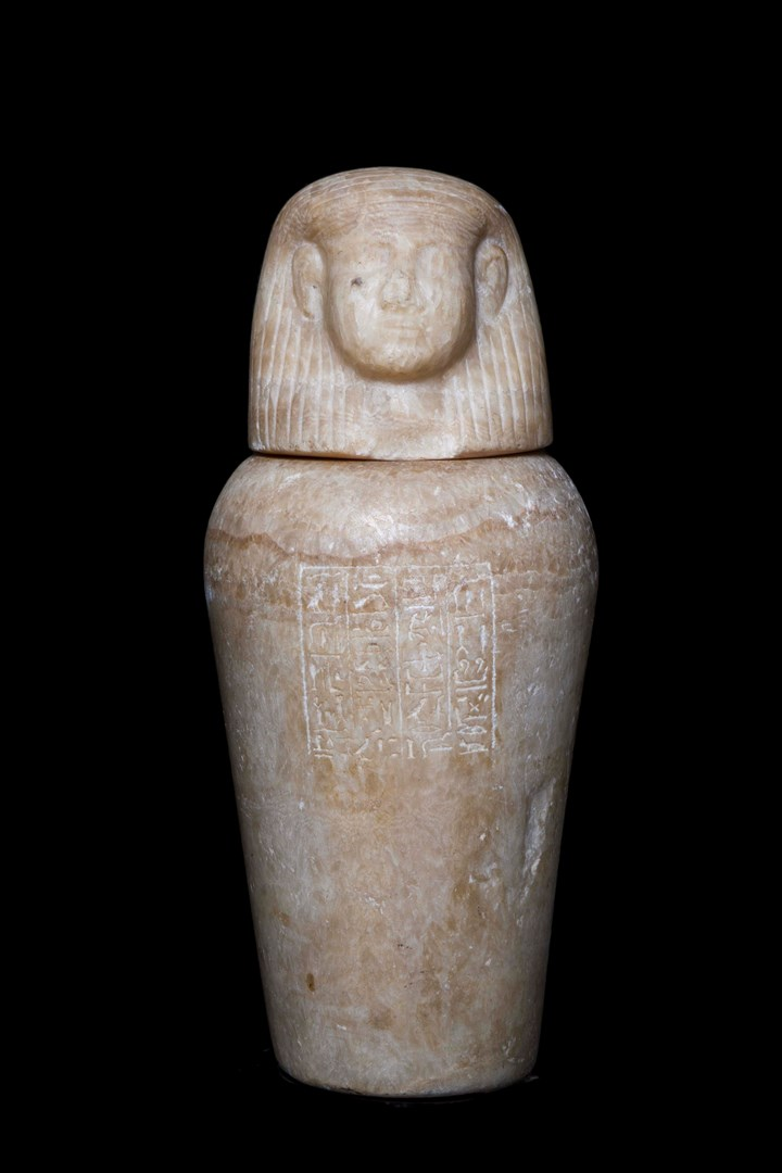 Canopic jar for Djed-Bast-Iuf-Ankh