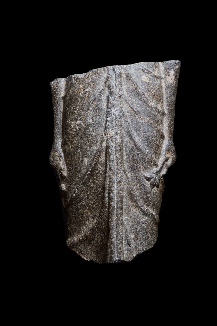 Draped fragment of the Goddess Isis