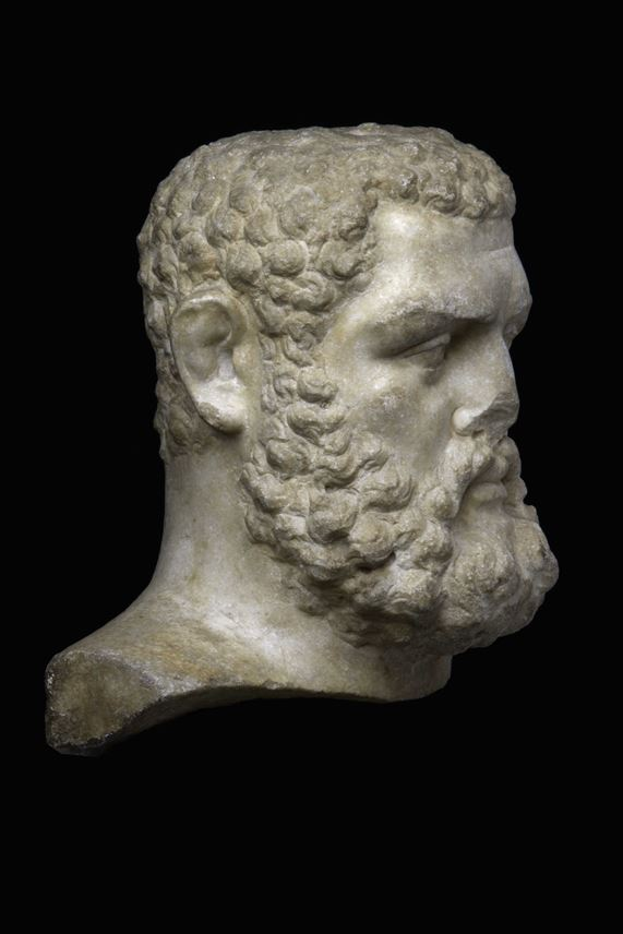 Head of Herakles							                  | MasterArt