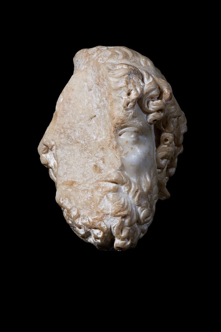 Head of a God, probably Jupiter