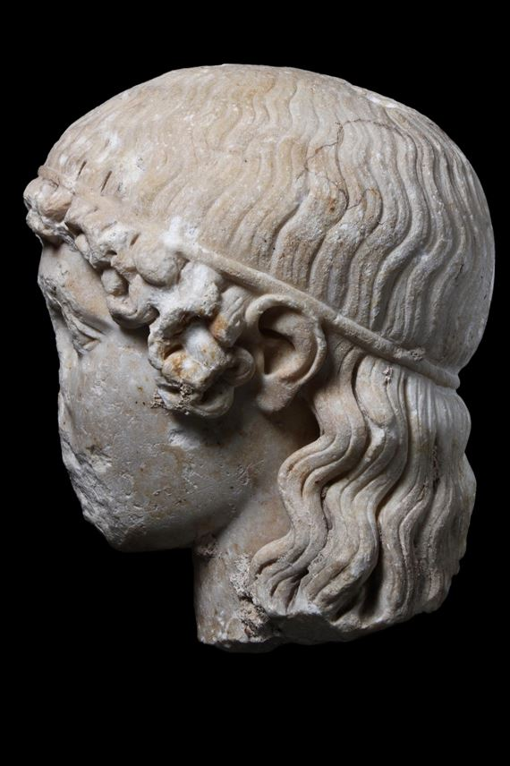 Head of the Tiber Apollo | MasterArt