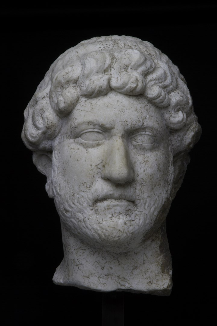 Portrait of the Emperor Hadrian