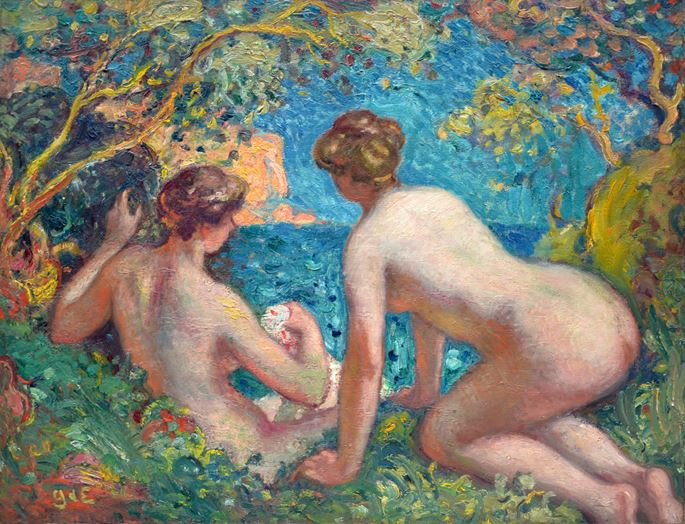 Georges D'ESPAGNAT - Women Bathing  | MasterArt