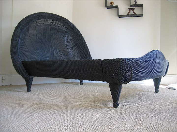 Exceptional rattan bed