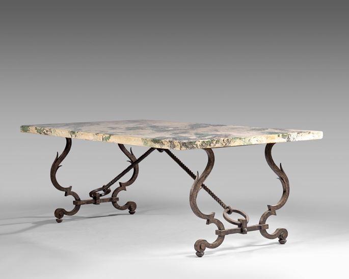 Gilbert Poillerat - Table | MasterArt