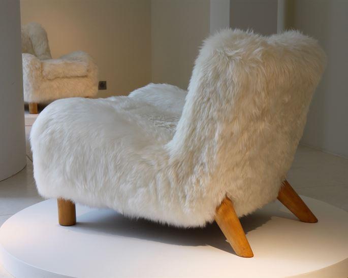 Jean Royère - Fur Armchair | MasterArt