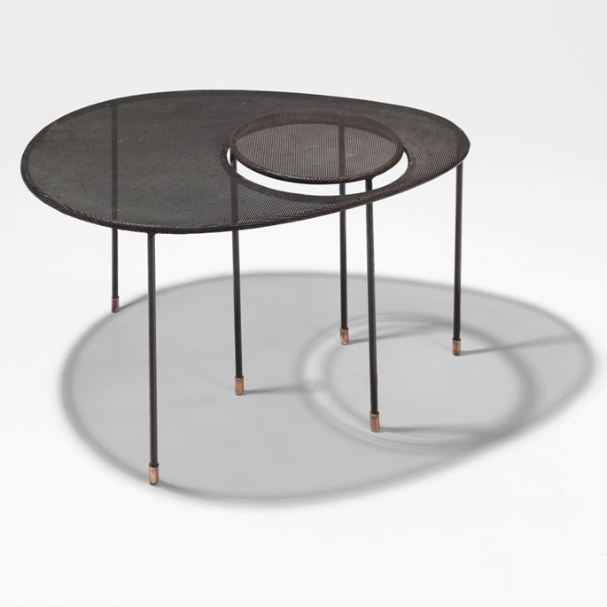 Mathieu Mategot - Two nesting tables, Kangaroo model | MasterArt
