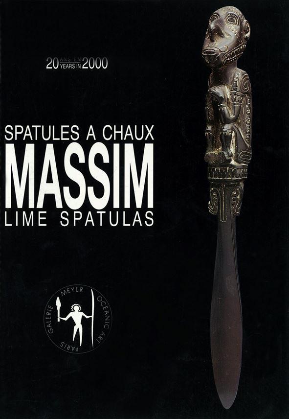 Massim Splayed Figure Lime Spatula   MasterArt