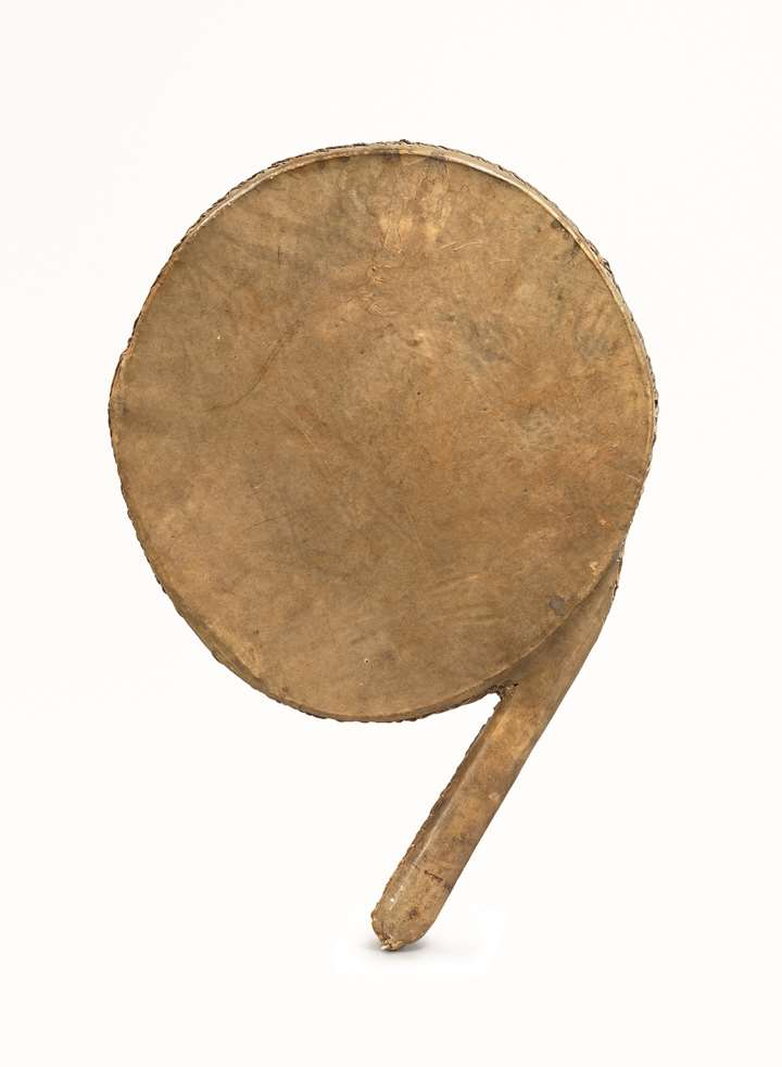 A Ceremonial Rattle Drum