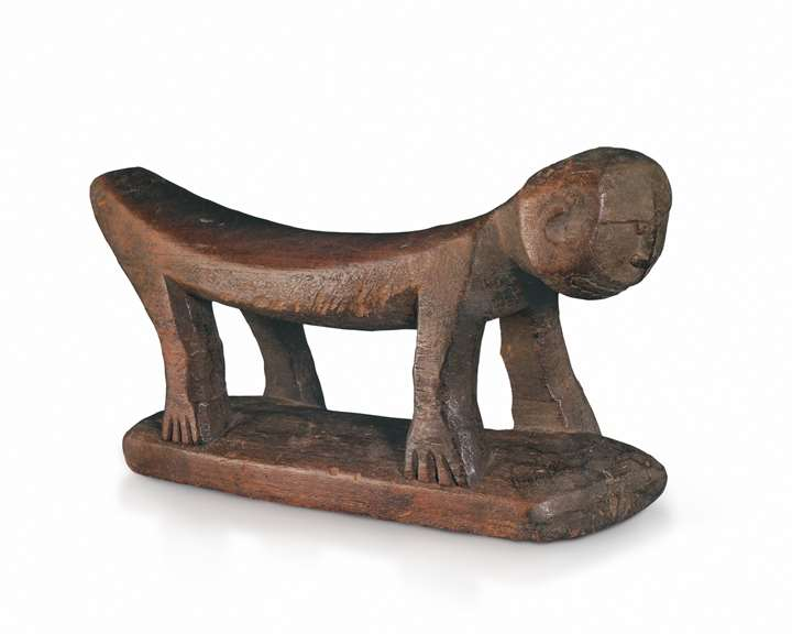 A Kowar Headrest collected by Jacques Viot