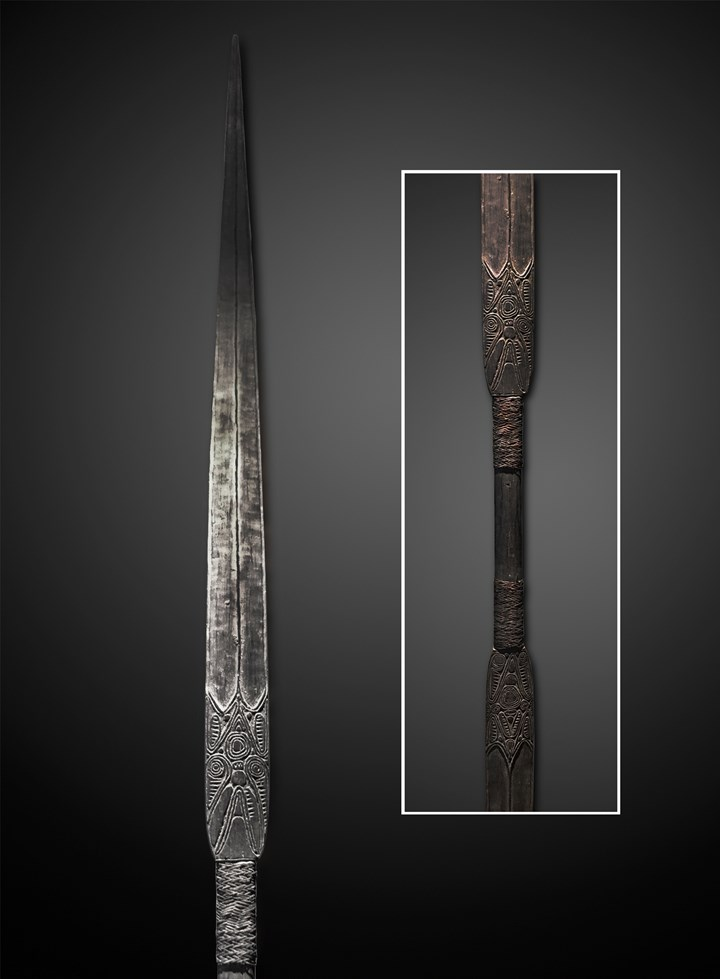 May River Double Bladed Spear
