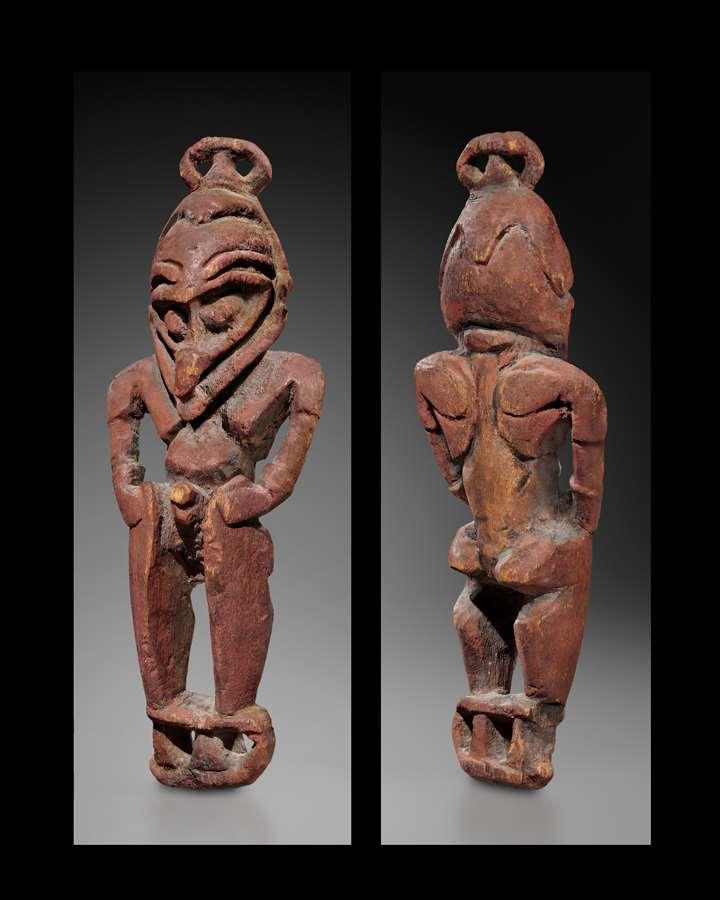 Sepik Amulet Figure