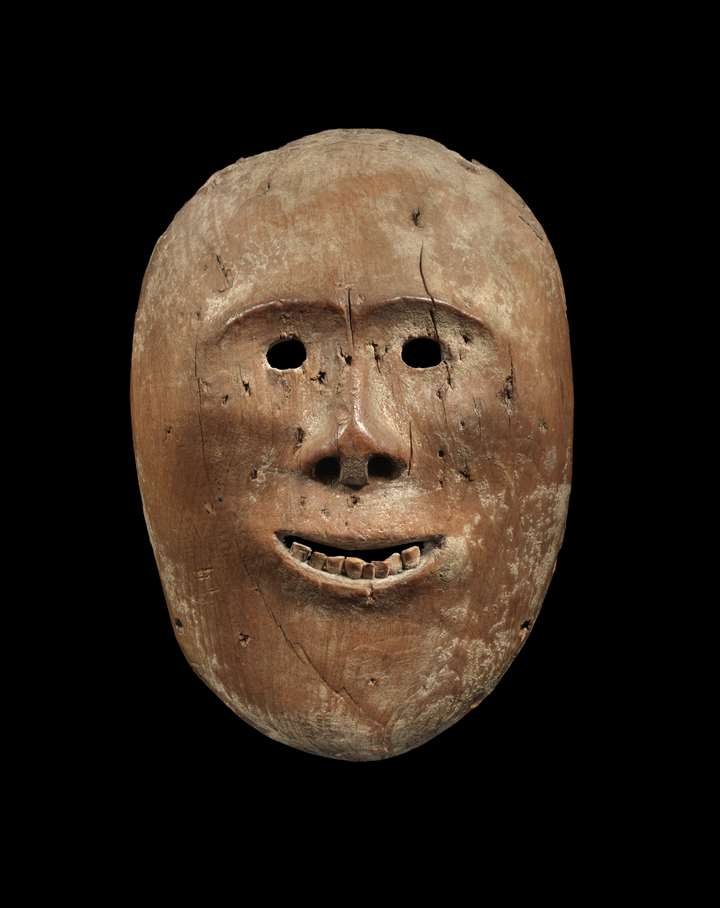 Eskimo Wood Mask