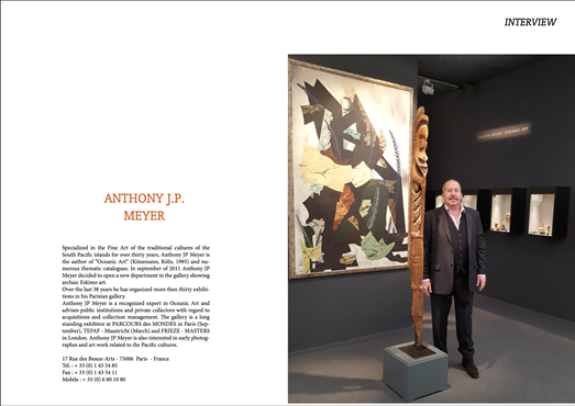 Tribal Art Society Interview with Anthony JP Meyer