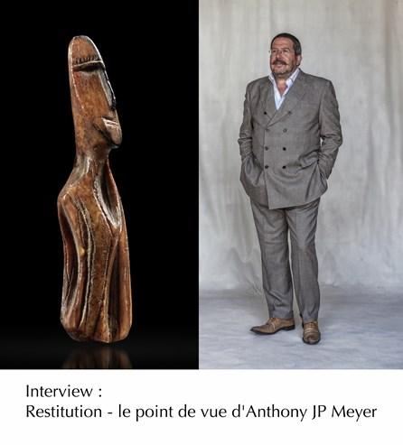 Interview : Restitution - le point de vue d'Anthony JP Meyer