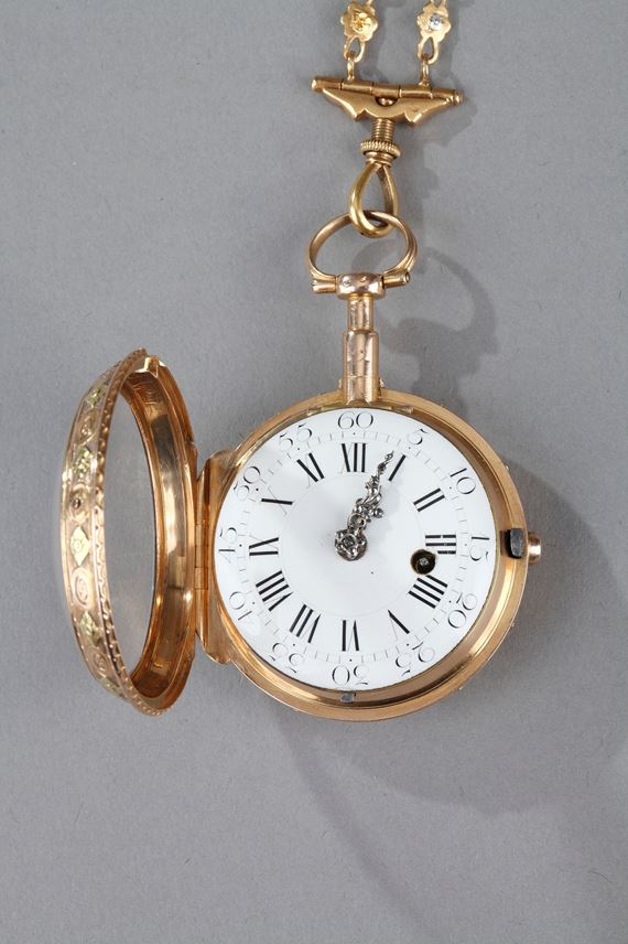 CHATELAINE AND GOLD WATCH | MasterArt