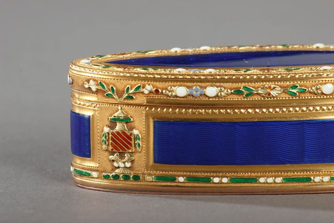 Gold and Enamel Snuffbox | MasterArt