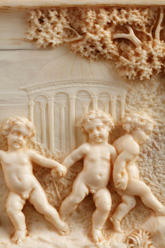 Early 19th Century continental ivory plaque.  | MasterArt