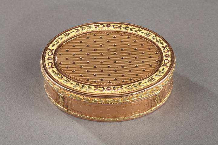 Louis XVI gold box