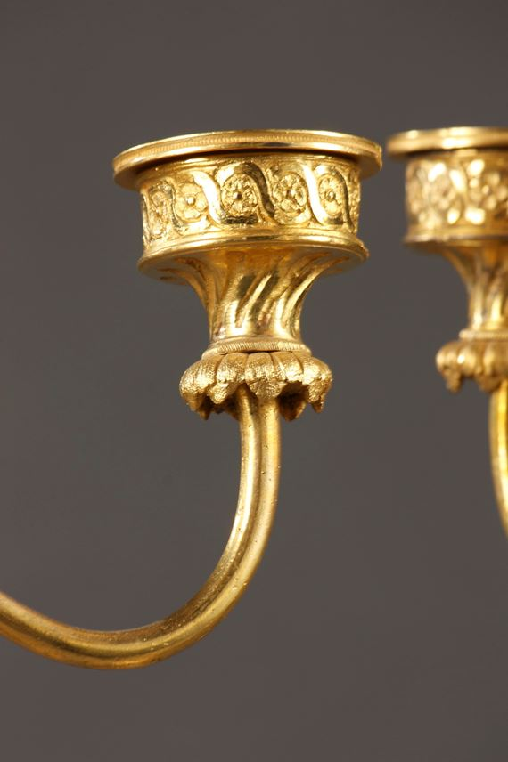 Pair of candelabras | MasterArt