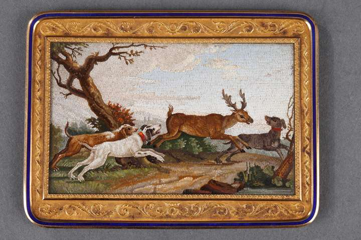 """The stag hunt"""
