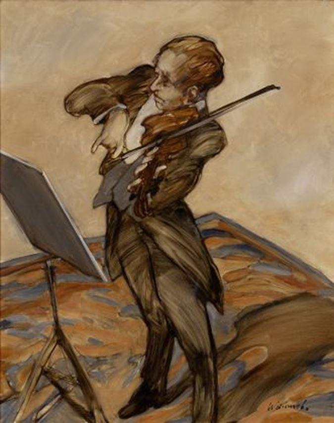 Claude Weisbuch - Violoniste | MasterArt