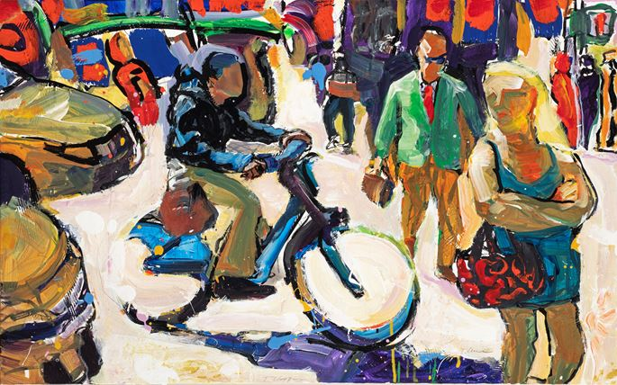 Tom Christopher - The Solitude of a Bike | MasterArt
