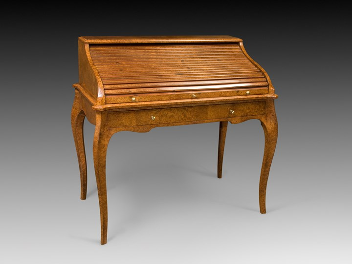 A 1930 ROLL TOP DESK