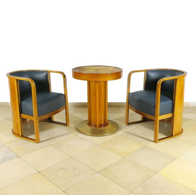 Josef  Hoffmann - Sitting Room Suite | MasterArt