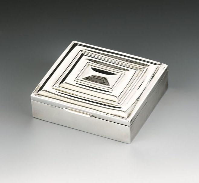Josef  Hoffmann - Cigarette Box | MasterArt