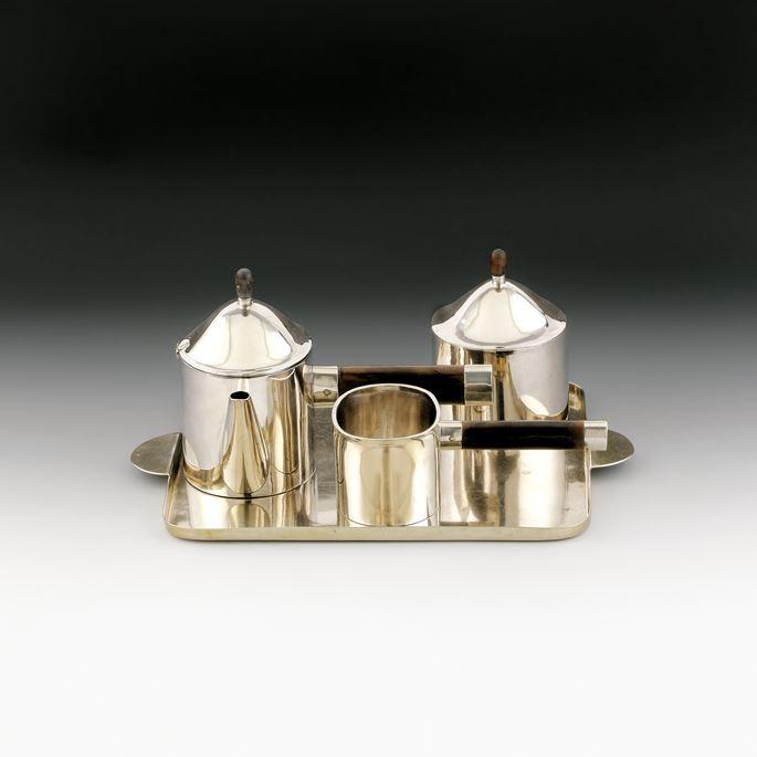 Josef  Hoffmann - Four-Piece Tea Set | MasterArt