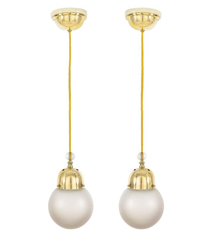 Josef  Hoffmann - Two Hanging Lamps | MasterArt