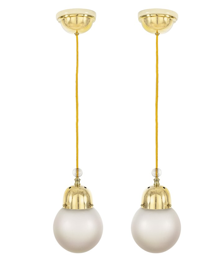 Two Hanging Lamps
