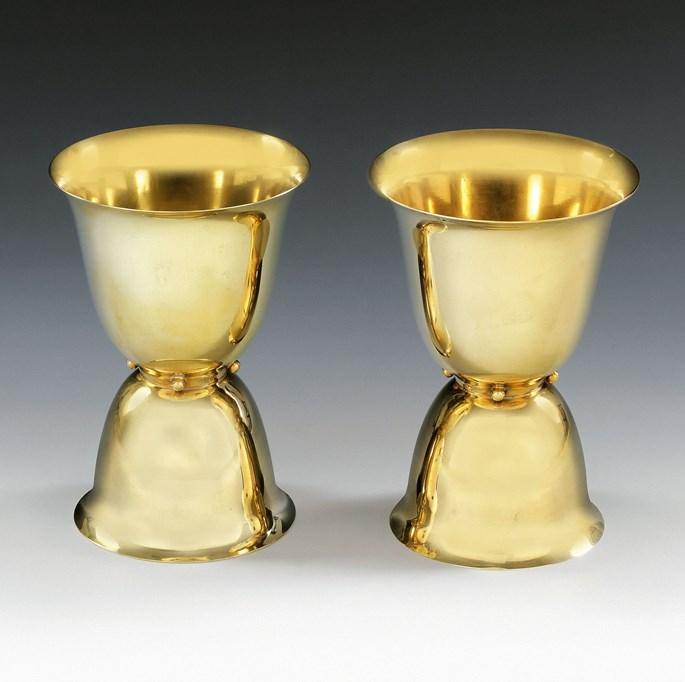 Josef  Hoffmann - Two Goblets | MasterArt