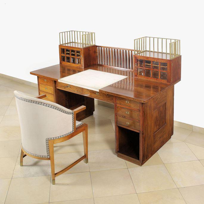 Josef  Hoffmann - Desk and Chair | MasterArt