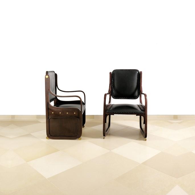 Koloman Moser - Two Armchairs | MasterArt