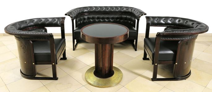 Josef  Hoffmann - Sitting Room Suite with Table | MasterArt