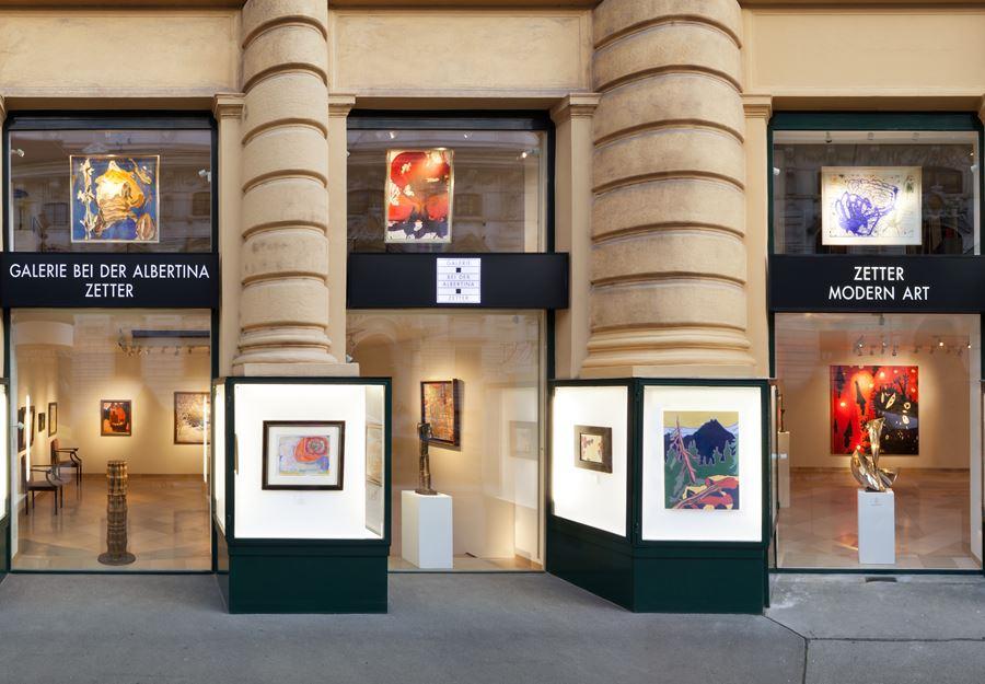 Galerie bei der Albertina - Zetter