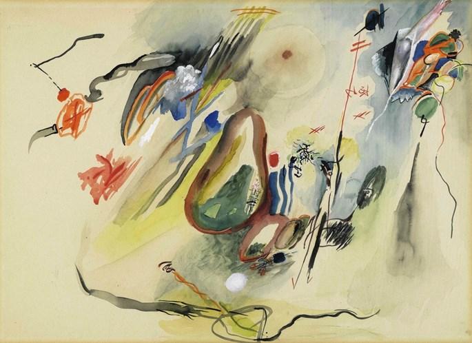 Rudolf Bauer - Untitled   MasterArt