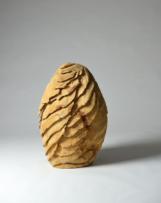 David Nash - Feathered Egg | MasterArt