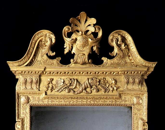 A Rare George II Carved Giltwood Mirror | MasterArt